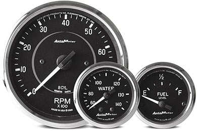 GMC Sierra AutoMeter Cobra Gauges