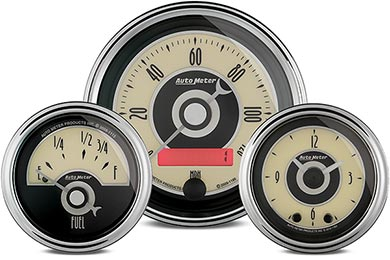 Chevy Camaro AutoMeter Cruiser Gauges