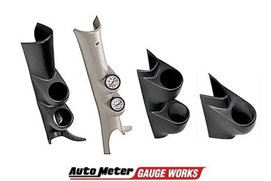 Gauge Works A-Pillar and Pod Mounts by AutoMeter