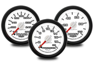 GMC Sierra AutoMeter Dodge Factory Match Gauges