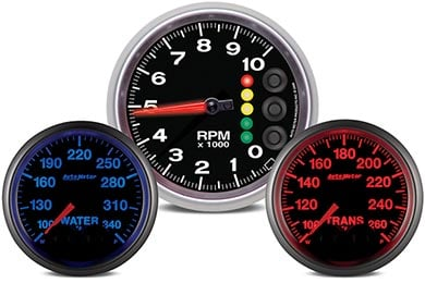GMC Sierra AutoMeter Elite Series Gauges