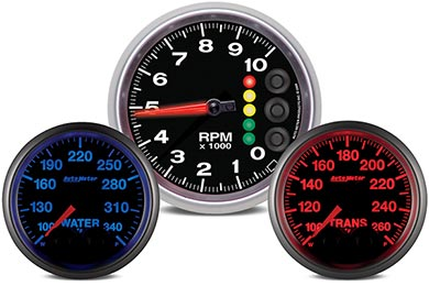Chevy Corvette AutoMeter Elite Series Gauges