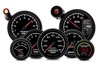GMC Sierra AutoMeter ES Gauges