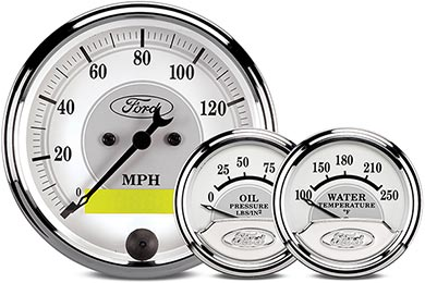 Chevy Camaro AutoMeter Ford Masterpiece Gauges