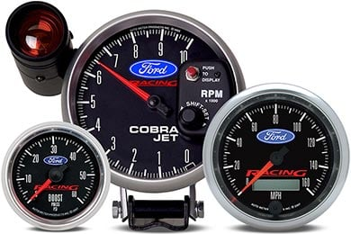 Chevy Corvette AutoMeter Ford Racing Gauges