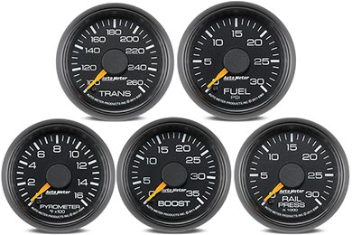 GMC Sierra AutoMeter GM Factory Match Gauges