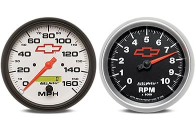 Chevy Camaro AutoMeter GM Performance Gauges