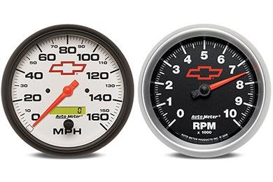 GMC Sierra AutoMeter GM Performance Gauges