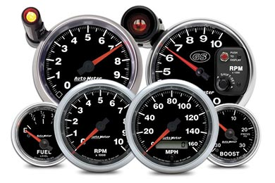 Chevy Corvette AutoMeter GS Gauges
