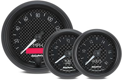 Chevy Corvette AutoMeter GT Series Gauges