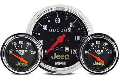 Chevy Corvette AutoMeter Jeep Gauges