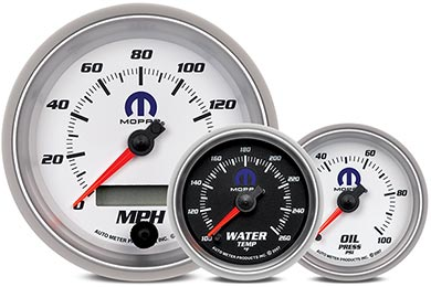 GMC Sierra AutoMeter Mopar Gauges