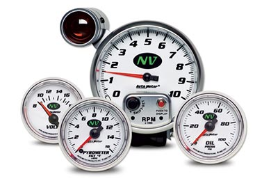 Chevy Corvette AutoMeter NV Gauges