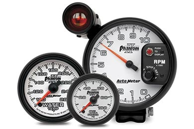 GMC Sierra AutoMeter Phantom II Gauges