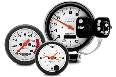 GMC Sierra AutoMeter Phantom Gauges