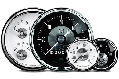Chevy Corvette AutoMeter Prestige Series Gauges