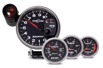 Dodge Dakota AutoMeter Sport Comp II Gauges