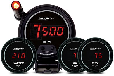 AutoMeter Sport Comp Digital Gauges