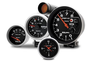 GMC Sierra AutoMeter Sport Comp Gauges