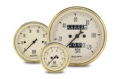 AutoMeter Street Rod Golden Oldies Gauges