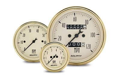 Mazda Miata/MX-5 AutoMeter Street Rod Golden Oldies Gauges