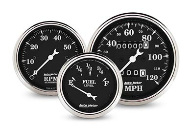 Dodge Dakota AutoMeter Street Rod Old Tyme Gauges