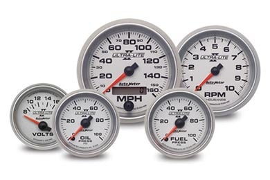 autometer ultra lite II gauges