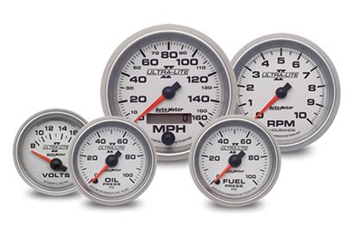 GMC Sierra AutoMeter Ultra-Lite II Gauges