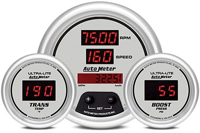 GMC Sierra AutoMeter Ultra-Lite Digital Gauges
