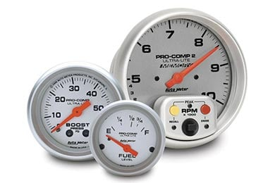 Chevy Camaro AutoMeter Ultra-Lite Gauges