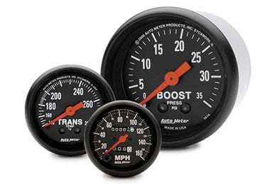Chevy Corvette AutoMeter Z-Series Gauges