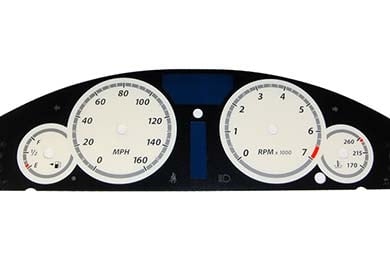 US Speedo Gauge Faces Color Gauge Overlay