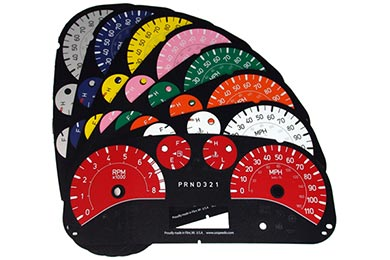 us speedo color gauge faces