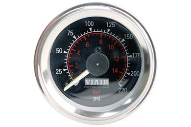 Mazda RX-8 VIAIR Air Pressure Gauges