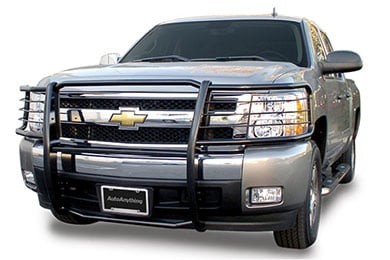 aries off road grille guard blk