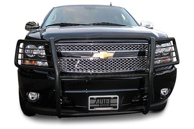 Jeep Liberty Black Horse Off Road Grille Guard