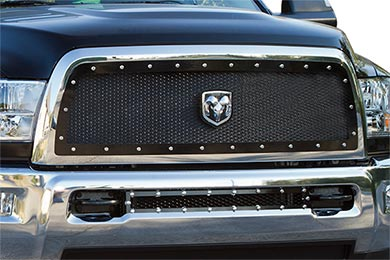 Dodge Ram Carriage Works Heavy-Duty Series Mesh Grilles