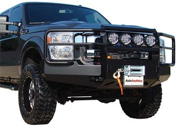 Ford F-350 Go Industries Pro Series Winch Front Bumper