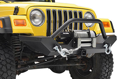 Jeep Wrangler ProZ Premium Rock Crawler Jeep Front Bumper