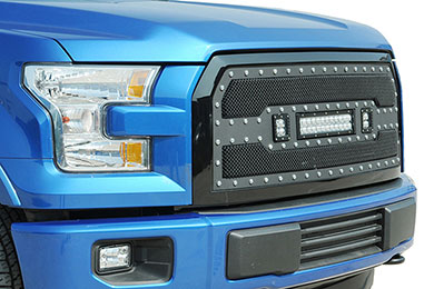 Ford F-350 ProZ Premium LED Grille
