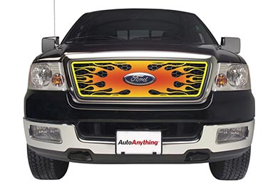 Putco Inferno 4-Color Hand Painted Custom Flame - Stainless Steel
