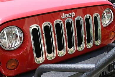 rugged ridge grille inserts new