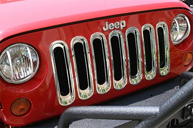 Jeep Wrangler Rugged Ridge Grille Inserts