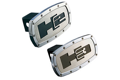 Dodge Durango Hummer Logo Hitch Covers by AMI