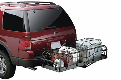 Toyota Tacoma Lund Cargo Net Tie Down for Hitch Racks