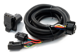 curt 5th wheel and gooseneck wiring harness 56001