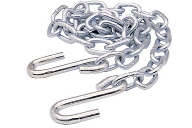 CURT Safety Chain Assemblies with S-Hooks