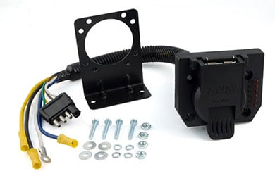 curt trailer hitch wiring adapters