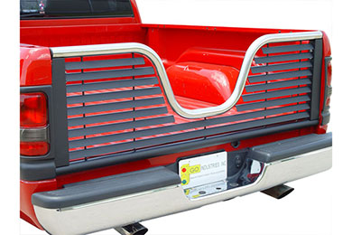 Dodge Ram Go Industries Air Flow 5th Wheel Tailgate - Louvered