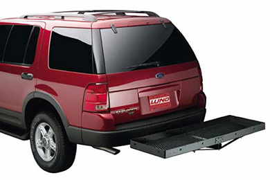 Ford Excursion Lund Hitch Cargo Carrier